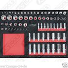 KS Tools BBA 1/4+3/8 + 1/2 INSIEME Zoccolo 75-tlg 1/1 systemeinlage 711.1075