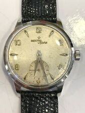 Zenith Sporto Vintage Acciaio Steel Case Swiss Made Mens Watch Cal. 40 33,5mm