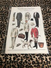 The Lettie Lane Paper Family Paper Dolls Sheet Lettie'S Father Man Of Fashion