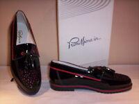 Scarpe classiche eleganti mocassini Primissima bimba bambina vernice nere new 34