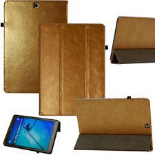 """COVER per Galaxy Tab S2 9,7 """" pelle custodia borsa protezione Smart Case ORO"""