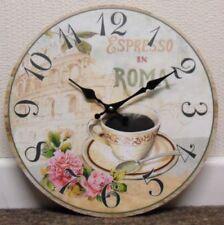 Coffee Round Modern Wall Clocks