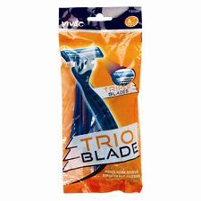 VAVIC Mens Disposable Triple Blade Razors SOFT Smooth Shaving  Pack of 6 New-UK