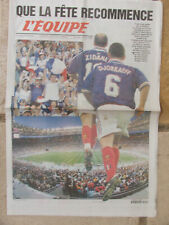 L'Equipe du 14/10/1998 - Foot Avant France-Andorre -