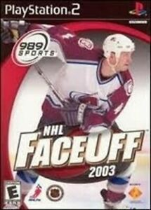 NHL FaceOff 2003 - Authentic Sony PlayStation 2 Game