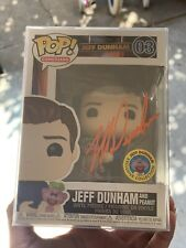 Funko POP Jeff Dunham exclusive SOLD OUT AutO In Orange Rare IN HAND w/protector