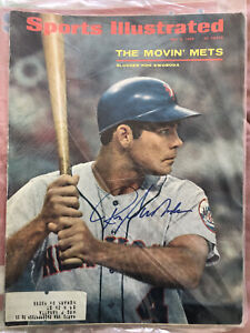 RON SWOBODA NEW YORK METS  AUTOGRAPHED 1968 SPORTS ILLUSTRATED