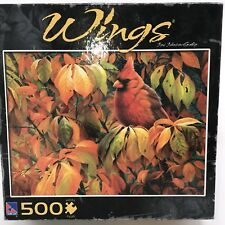Wings the Cardinal 500 Piece Jigsaw Puzzle 2008 Sealed Box