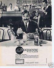 Publicité Advertising 066 1964 Duquesne c est le punch avec Moustache