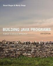 Building Java Programs: A Back to Basics Approach 4th Edition