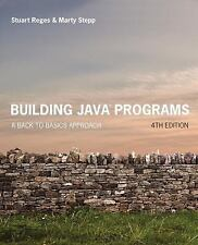 Building Java Programs: A Back to Basics Approach (2017) Reges, Stepp, with Code
