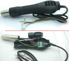 AC 220V Hot Air Gun Handle With Blower fan for Soldering station Rework Station