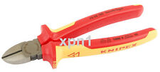 Knipex 70 08 180 VDE Fully Insulated Diagonal Side Cutters 180mm - 32021