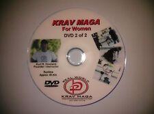 """""""KRAV MAGA for Women""""  2 Disk Set, Self Defense Video DVD."""
