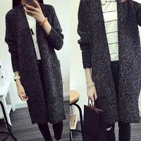 Warm Women's Windbreaker Outwear Wool Slim Long Coat Jacket Trench Parka NEW