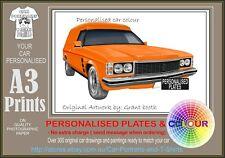 74-76 SANDMAN VAN A3 ORIGINAL PERSONALISED PRINT POSTER CLASSIC RETRO CAR