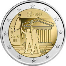 Pièces de 2 euros de Belgique année 2018