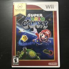 Super Mario Galaxy Nintendo Wii Game  Complete Manual Tested Works Kids Adult