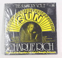 """12"""" LP Record Charlie Rich """"The Sun Story Vol. 2"""" 1977 EX Tested Punch in Sleeve"""