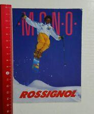 Aufkleber/Sticker: ROSSIGNOL Mono (080416183)