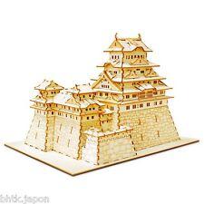 Maquette 3D HIMEJI en bois - sans ciseau sans colle - EXCLU BHTK IMPORT JAPON