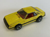 1979 Hotwheels Ford Mustang SVO Yellow, Very Rare! Loose!