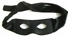 BLACK ZORRO EYE MASK  MASQUERADE  FANCY DRESS MASK ACCESSORY