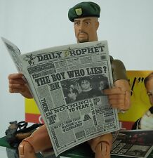 1/6 Scale Newspaper - Daily Prophet 2 for Harry Potter with Harry Potter cover