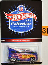 HOT WHEELS VOLKSWAGEN T1 DRAG BUS 16TH ANNUAL COLLECTORS NATIONALS