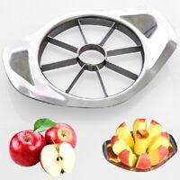 HN- FA- Kitchen Apple Slicer Cutter Pear Fruits Divider Tool Comfort Handle Peel