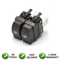 Electric Double Window Control Switch Button Rear For Renault