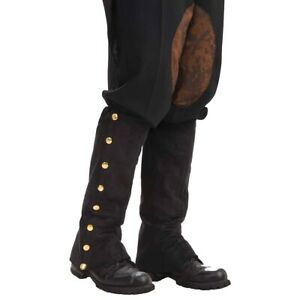Steampunk Spats Costume Accessory Adult Halloween