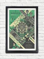 H353 The Matrix Classic Movie Vintage Film Silk Art Poster Decor