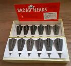 12 Ace Glue-on Broadheads - 11/32 x 140 Grains - New Old Stock in Box