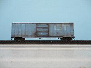 ho weathered freight car atlas custom 50ft box car