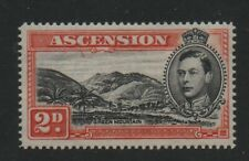 Ascension 1938 2d SG41ba Mountaineer Flaw MVLH mint stamp cat £350
