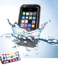 COQUE iPHONE 5 5S SE WATERPROOF NOIR ETANCHE ULTRA RESISTANT (TPU)