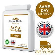 PET Vitale probiotici 2 miliardi di UFC 120 Pollo Aromatizzato Compresse per Cani