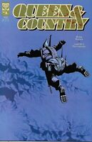 Queen And Country Comic Issue 10 Modern Age First Print 2002 Greg Rucka Dranski
