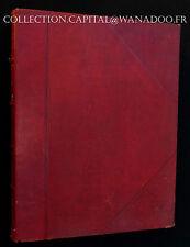 Livre La France et ses Colonies. Atlas Illustré Cent Cartes. Vuillemin & Poirée.
