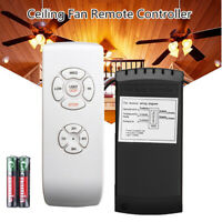 US Universal Wireless Ceiling Fan Lamp Light Timing Remote Control Receiver Kit