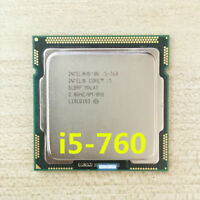 Intel Core i5-760 CPU Quad-Core 2.80GHz / 8MB LGA1156 SLBRP Processor
