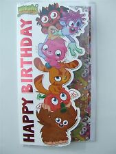 Moshi Monsters Happy Birthday card for any age - 300390