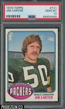 1976 Topps Football #141 Jim Carter Packers PSA 10 GEM MINT