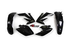 Honda CRF250X 2004 2005 2006 2007 2008 Black Plastic Kit Plastics CRX-NR0-412