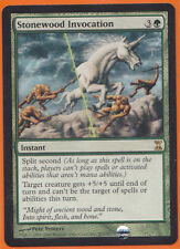 MTG Magic 1 x Time Spiral Rare  Stonewood Invocation   Not Played  Instant