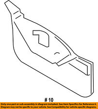 FORD OEM Fender-Extension Bracket Left BT4Z16185B