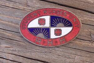 STUDENT NURSES UNIT ROYAL HOBART HOSPITAL NURSES BADGE