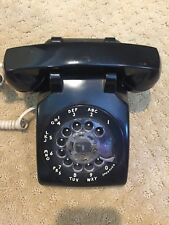 Rotary Phone Black Bell system Western Electric