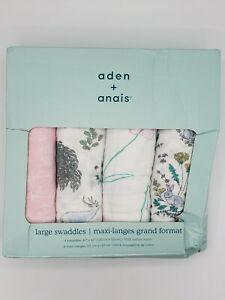 aden + anais Swaddle Blanket - Forest Fantasy - 4-Pack